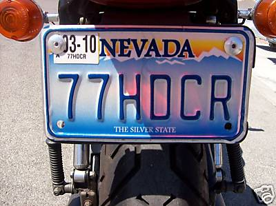 Best Harley license plate ever!!!