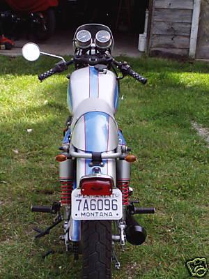 honda 360 cafe racer. 1975 Honda CB360 Cafe Racer
