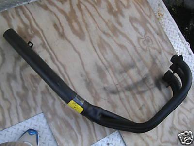 Honda CB750 SOHC exhaust 02