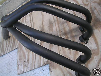 Honda CB750 SOHC exhaust 04