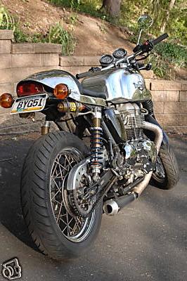 triumph bonneville t100 2005 cafe racer 05