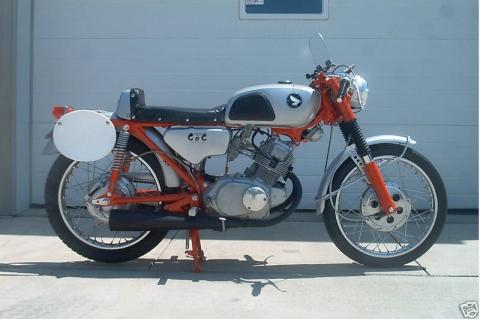 honda cb160 1967 cafe racer 01