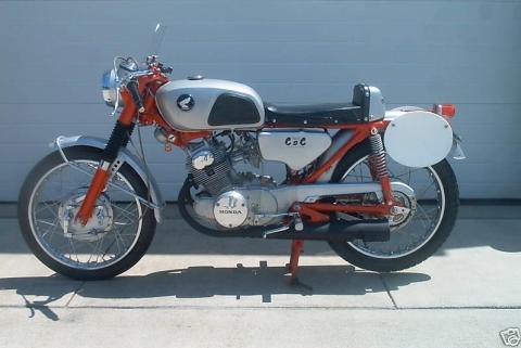 honda cb160 1967 cafe racer 02