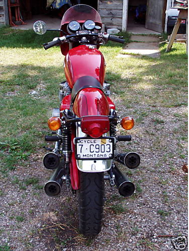 honda cb500 1973 cafe racer AA04