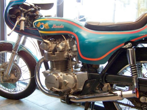 honda cl450 1970 cafe racer AA03