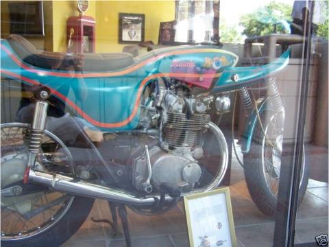 honda cl450 1970 cafe racer AA04