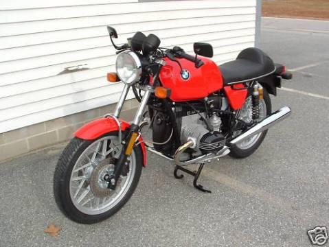 BMW R100 1984 Cafe Racer 011