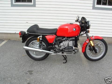 BMW R100 1984 Cafe Racer 015