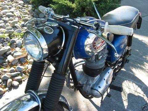 BSA B40 1963 015