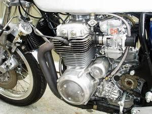 Honda CB400 1975 Cafe Racer 015