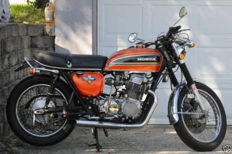 Honda CB750 1973 Cafe Racer Project 01