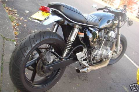 Honda CB750 1974 Cafe Racer Project 02