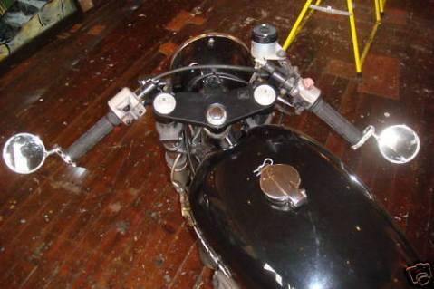 Honda CB750 1974 Cafe Racer Project 04