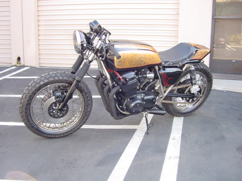 Honda CB750 1976 Lossa Cafe Racer 01