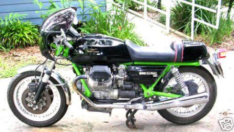 Moto Guzzi LeMans 3 1982 Cafe Racer 01