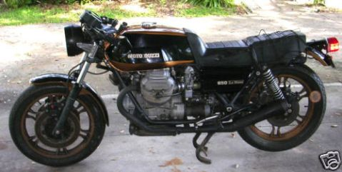Moto Guzzi LeMans 850 Cafe Racer 01