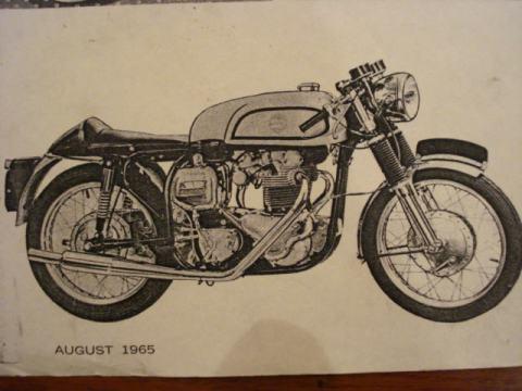 Norton Atlas 750 1965 Dunstall Rep 012