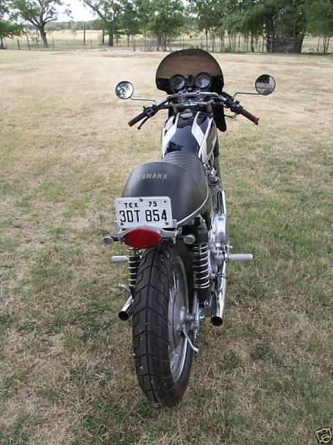 Yamaha XS650 1975 Cafe Racer 04