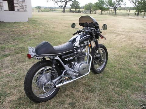 Yamaha XS650 1975 Cafe Racer 06