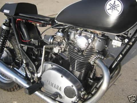 Yamaha XS650 1981 Cafe Racer 04