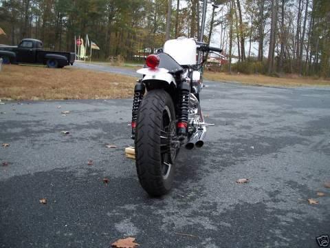 Harley Sportster 1989 Cafe Racer 0014
