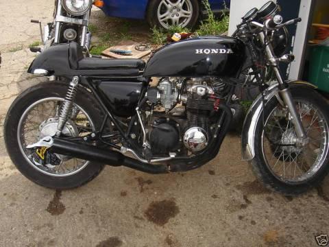 Honda CB550 1978 Cafe Racer 011