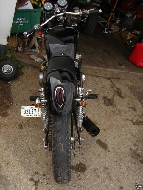 Honda CB550 1978 Cafe Racer 012