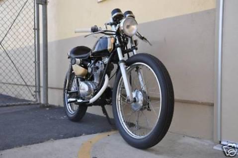 Honda SL125 1971 Cafe Racer 0012