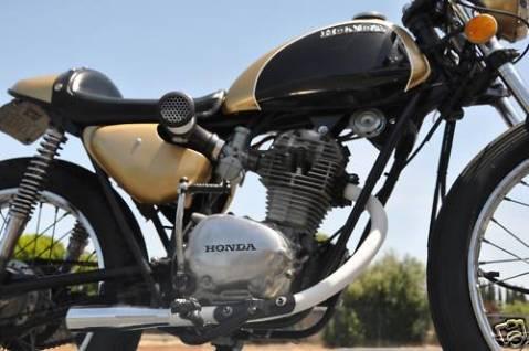Honda SL125 1971 Cafe Racer 0015