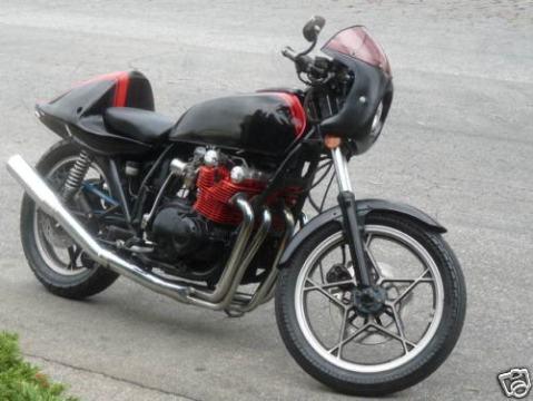 Suzuki GS750 1978 Cafe Racer 0011