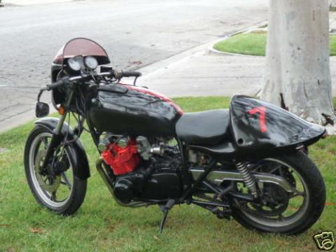 Suzuki GS750 1978 Cafe Racer 0016