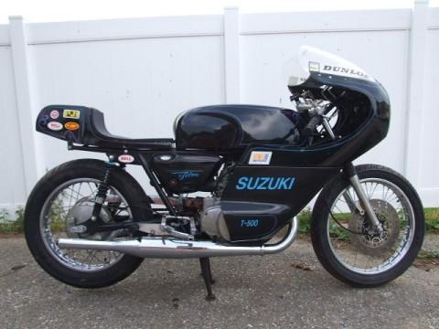 Suzuki Titan 500 1973 Cafe Racer 0011