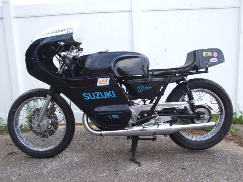 Suzuki Titan 500 1973 Cafe Racer 0012